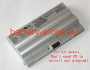 11.1 V, 4400 mAh computer batteries for SONY vaio vgn-fz15