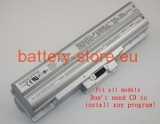 11.1 V, 6600 mAh computer batteries for SONY vgp-bps21a