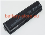 11.1 V, 6600 mAh computer batteries for HP 586006-321