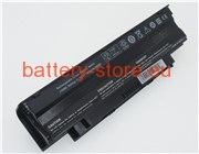 11.1 V, 6600 mAh computer batteries for DELL inspiron 14r