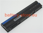 11.1 V, 4400 mAh computer batteries for DELL latitude e6530