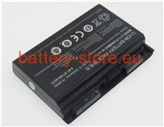 14.8 V, 5200 mAh computer batteries for CLEVO 6-87-x710s-4272