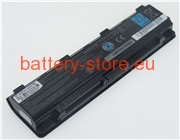 11.1 V, 5700 mAh computer batteries for TOSHIBA satellite c855