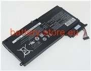 Laptop battery for NP520U4C, AA-PLYN8AB, SAM3125 computer batteries
