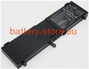 Laptop battery for C41-N550, N550JA, Q550LF computer batteries