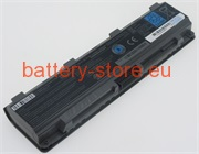 11.1 V, 5700 mAh computer batteries for TOSHIBA satellite c850