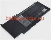 7.4 V, 6800 mAh computer batteries for DELL latitude e5550 series