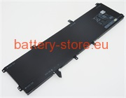 11.1 V, 8000 mAh computer batteries for DELL XPS 9530