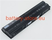 11.1 V, 5500 mAh computer batteries for DELL latitude e6530