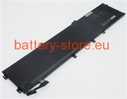Laptop battery for XPS 15 9560, 6GTPY, Precision 5520 computer batteries