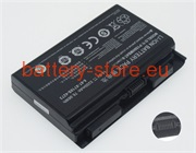 Laptop battery for P150, P170, P150HMBAT-8 computer batteries