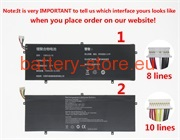 Laptop battery for EZBook 3 Pro LB10, EZBook 3 Pro V4, EZBook 3 Pro V3 computer batteries