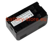 6 V, 4000 mAh batteries for JVC gr-ax55u
