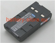 6 V, 2100 mAh batteries for JVC gr-ax55u