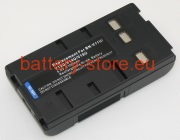 6 V, 2100 mAh batteries for JVC bn-v14u