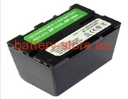 14.4 V, 7800 mAh batteries for SONY pxw-x160