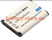 batteries for NP-BX1, DSC-RX100, Cyber-shot DSC-RX100 digital camera battery