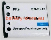 batteries for Sanyo Xacti VPC-T1495, Sanyo Xacti VPC-E1500TP, Sanyo Xacti VPC-E1403EX digital camera battery